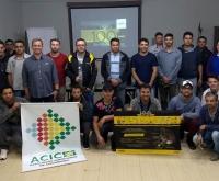 Acic Curitibanos - Núcleo de Automecânicas participa de Palestra Técnica.