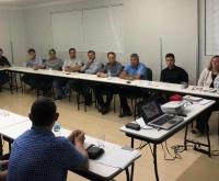 Acic Curitibanos - Reunião discute Campanha Comércio Forte, Cidade Feliz e Jantar de Posse da Diretoria.