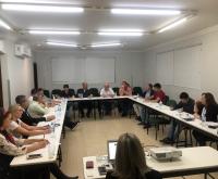 Acic Curitibanos - Diretores recebem treinamento da FACISC em reunião mensal