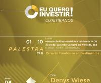 Acic Curitibanos - ACIC e XP Investimentos promovem palestra