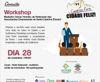 Acic Curitibanos - Campanha Comércio Forte, Cidade Feliz reúne empresários novamente.