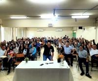 Acic Curitibanos - Projeto Piloto encerra atividades em 2019 com palestra de Gerson Suzuki