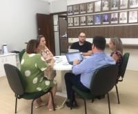 Acic Curitibanos - Nova coordenadora do Programa Empreender visita ACIC