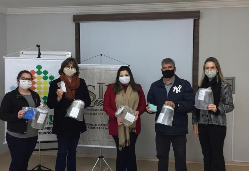 Pra Vida - Mais dois municípios recebem doação de máscaras da ACIC e SIFC