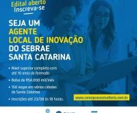 Acic Curitibanos - Sebrae tem vagas para Agente Local de Inovação em Curitibanos