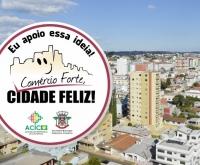 """Acic Curitibanos - Campanha """"Comércio Forte, Cidade Feliz"""" é lançada"""