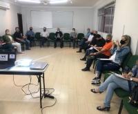 Acic Curitibanos - ACIC promove reunião presencial com seus diretores depois de quase 7 meses.