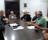 Acic Curitibanos - Reitor interino da UFSC recebe lideranças de Curitibanos e região
