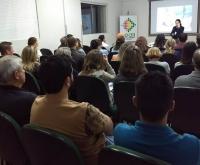 Acic Curitibanos - Liderança é tema de palestra a integrantes de Núcleos Empresariais.