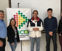 Acic Curitibanos - Presidente da Junta Comercial de SC visita Curitibanos e anuncia novidades