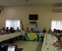 Acic Curitibanos - Amarildo Niles comanda sua primeira reunião da Regional Meio-Oeste