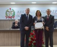 Acic Curitibanos - ACIC recebe homenagem em Sessão Solene