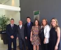 Acic Curitibanos - ACIC prestigia inauguração da nova sede da FACISC