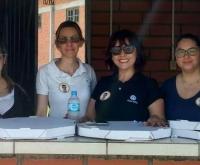 Acic Curitibanos - Núcleo da Mulher Empresária entrega valor arrecadado com Ação Social para Brian