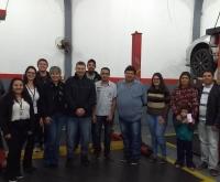 Acic Curitibanos - Núcleo de Automecânicas da ACIC recebe nucleados de Fraiburgo