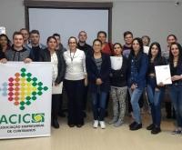 Acic Curitibanos - Núcleo de Gastronomia encerra Capacitação