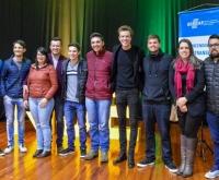 Acic Curitibanos - Jovens Empreendedores participam de palestra em Videira