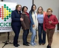 Acic Curitibanos - Núcleo da Mulher Empresária define ações para os próximos dois meses